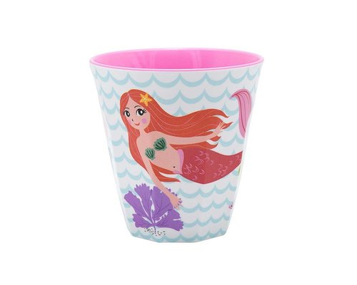 Delightful Mermaid Small Melamine Cup