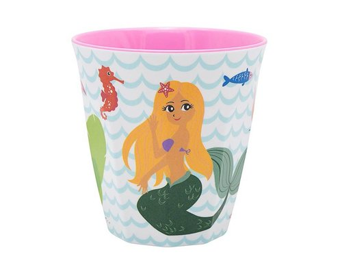 Delightful Mermaid Medium Melamine  Cup
