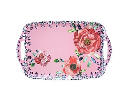 Cheerful Flower Medium Melamine Tray