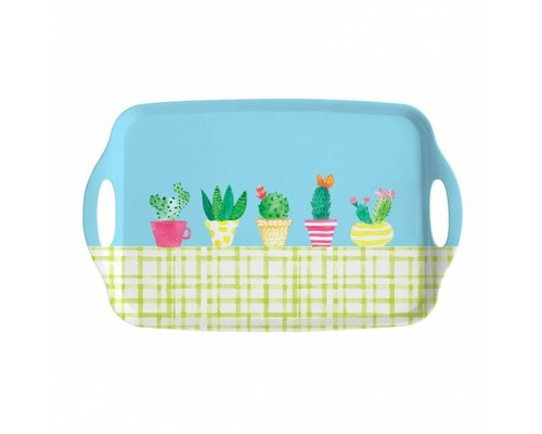 Lovely Cactus Medium Melamine Tray