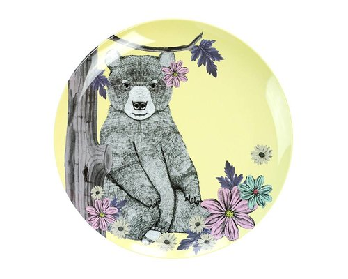 Forest Dreams Melamine Lunch Plate