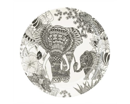 My World Too Melamine Lunch Plate