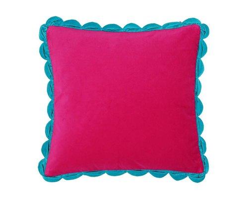 Velvet Cushion - Pink