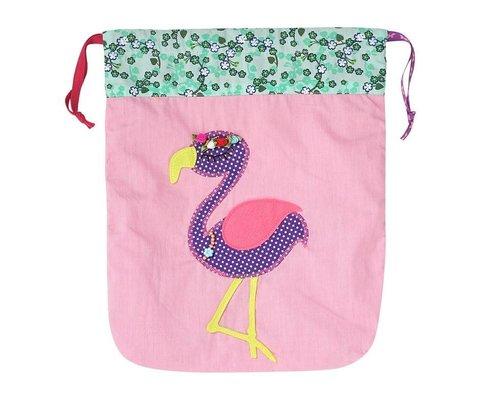 Drawstring bag - Flamingo