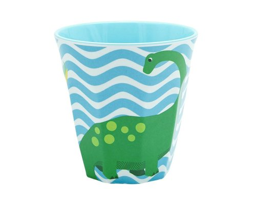 Happy Dinosaurs Melamine Medium Cup