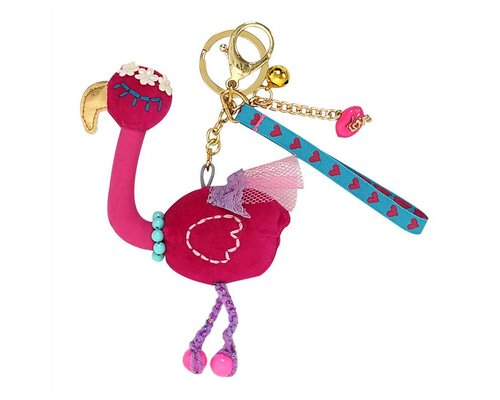 Keyring So Pretty Flamingo