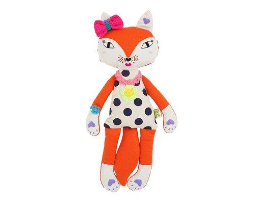 Fox soft Toy Girl
