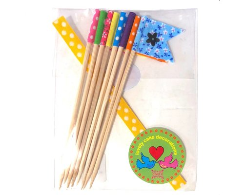 Lovely Cake Decorations Flags