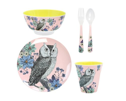 Forest Dreams Melamine set