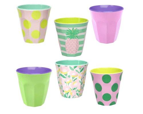Happy Summer Medium Cup set