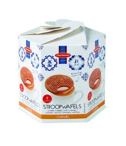 Daelmans Caramel Stroopwafels in Hexa Box