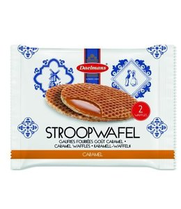 Daelmans Jumbo Caramel Stroopwafels 2-pack