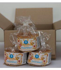 Gluten-free stroopwafels in Clip Bag - Case of 8