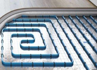 Fußbodenheizungs Systeme