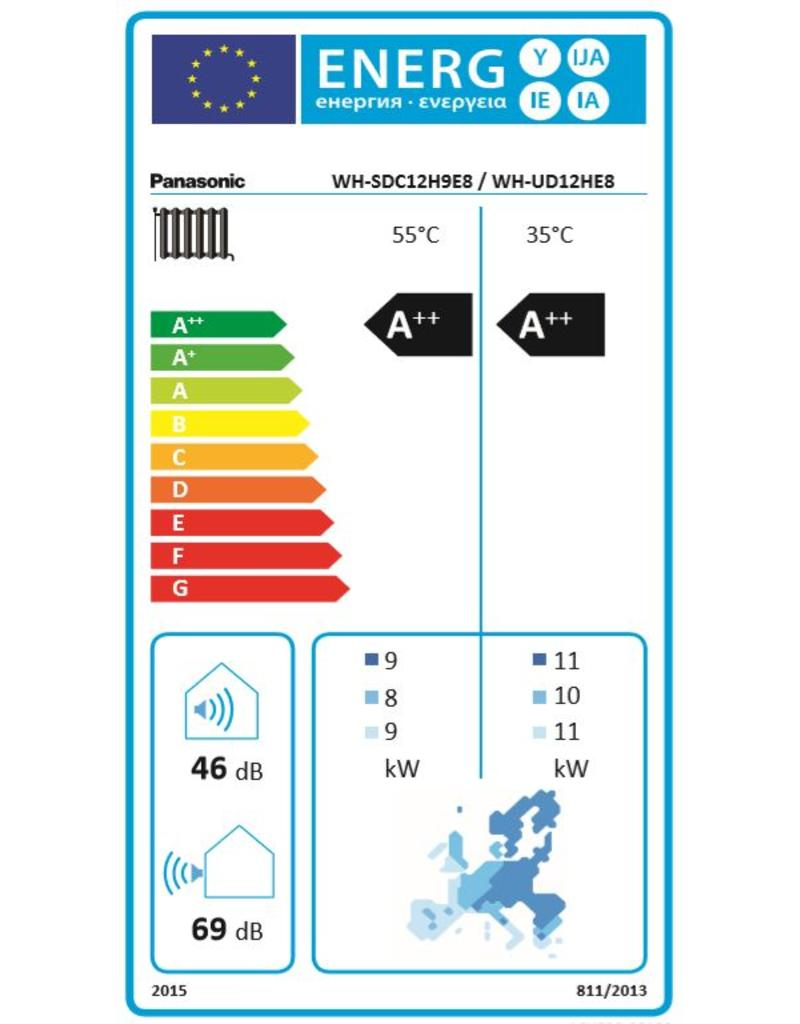 Panasonic Aquarea LT, Generation 'H' 12kW, Dreiphasig