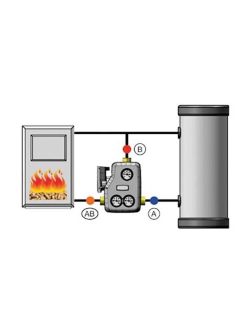 Festbrennstoffladeset 1'' thermisch