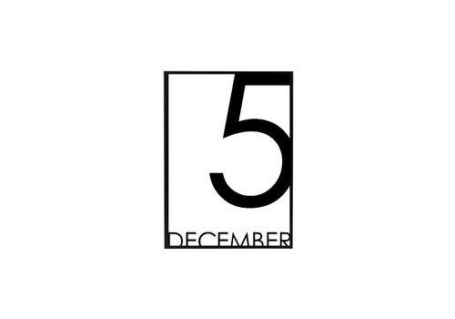 SEQ Lifestyle Sinterklaas Poster 5 december z/l