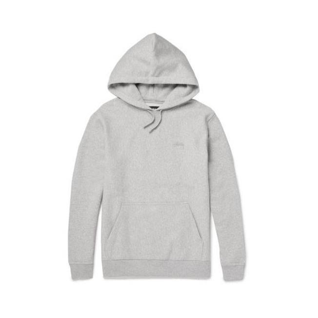 Stock Logo Hood Grey