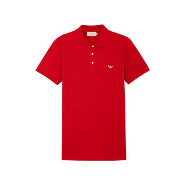 Polo Tricolor Fox Patch Red