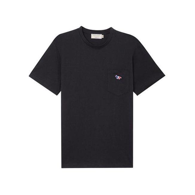 Tee-Shirt Tricolor Fox Patch Black