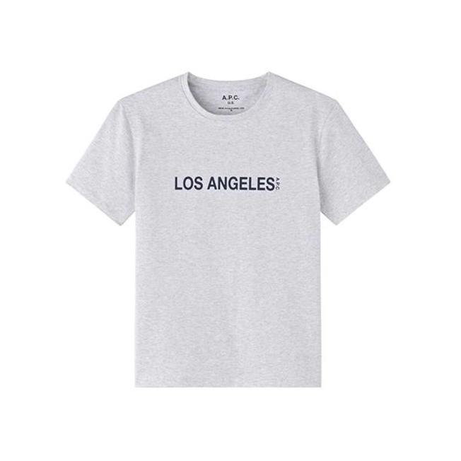 T-shirt Los Angeles Grey