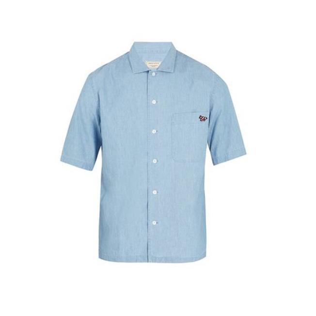 Chambray Surf Casual Shirt