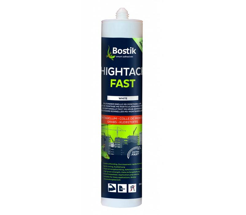 Bostik HighTack Fast wit patroon 290ml
