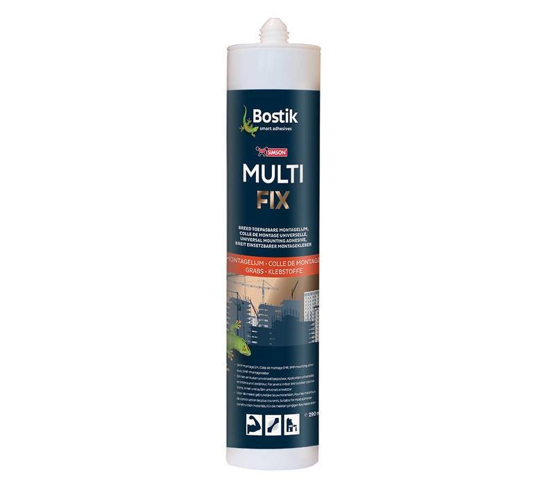 Bostik Multi Fix wit patroon 290ml
