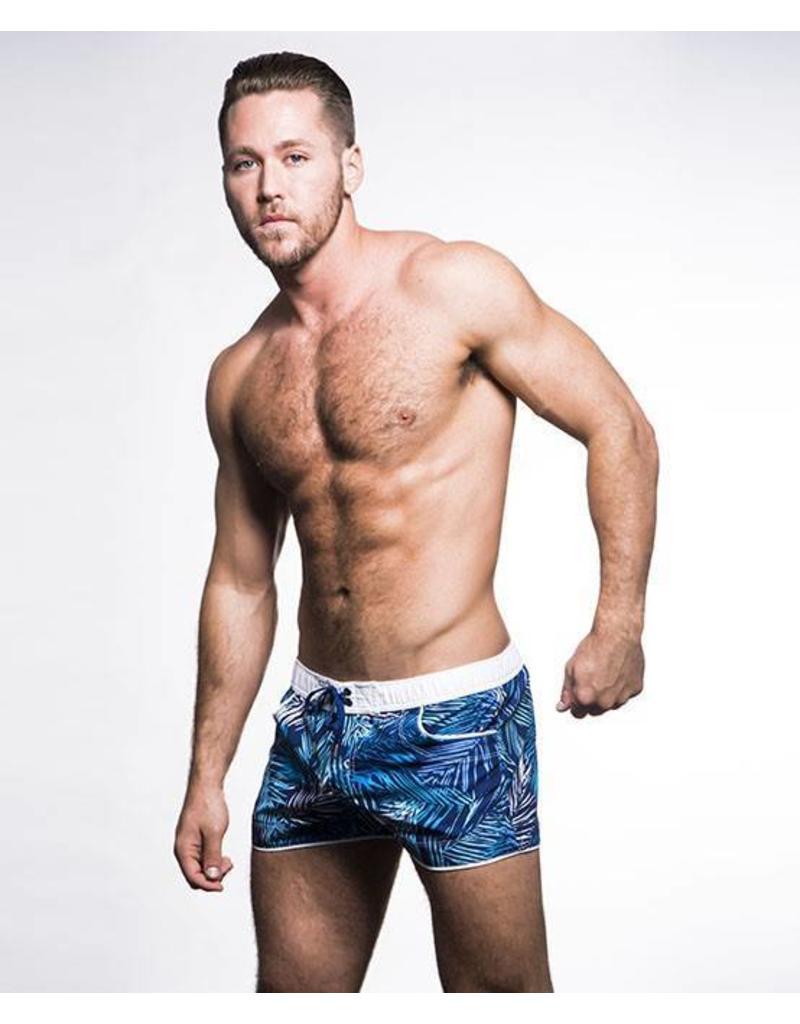 Andrew Christian Andrew Christian Tropical Palm Swim Shorts