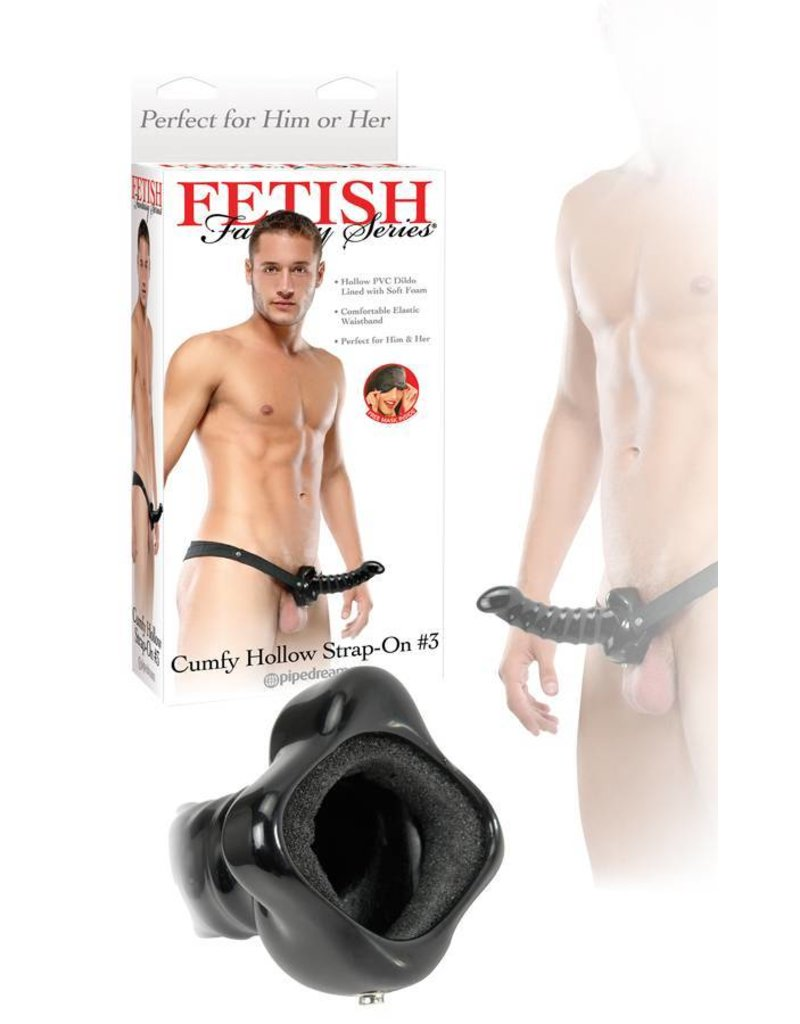 Fetish Fantasy - Cumfy Hollow Strap on