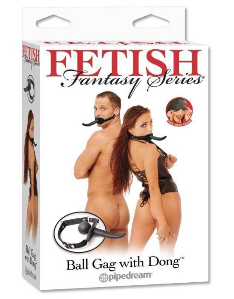 Fetish Fantasy Ball Gag mit Dildo