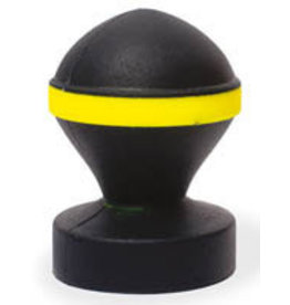 Keep Burning Fluo Valve Plug Black/Yellow