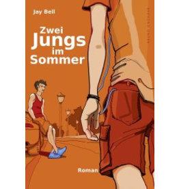 Zwei Jungs im Sommer