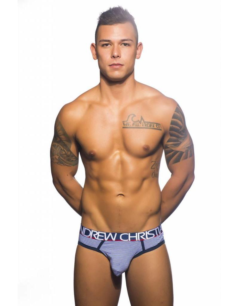 Andrew Christian Andrew Christian Almost Naked Nautical Stripe Brief