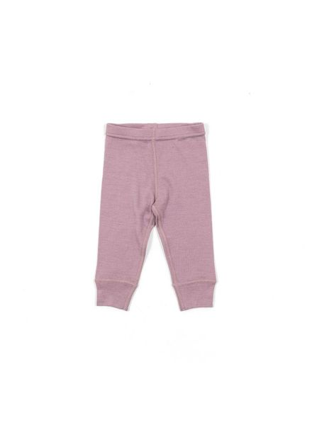 Minipop Wool pants - 100% merino - dusty pink - size 80  to 104