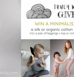 GIVEAWAY: Minimalisma silk or organic cotton set