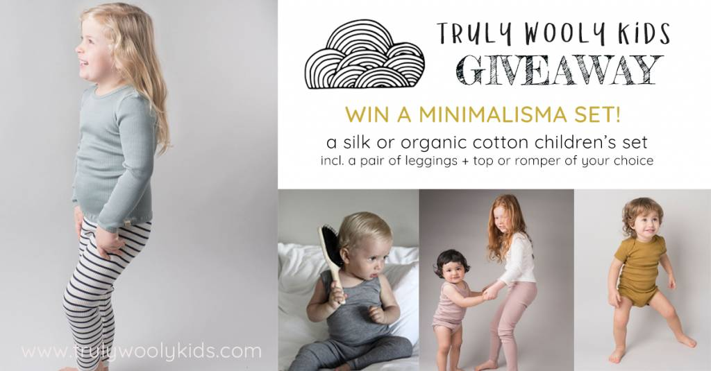 GIVEAWAY: Minimalisma silk or organic cotton set