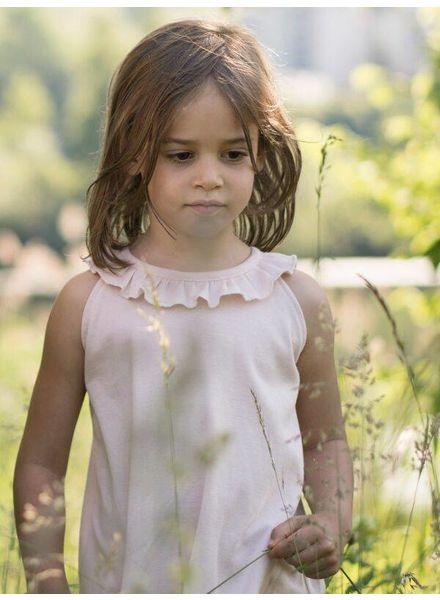Minimalisma Solja top - 100% organic cotton - pale blush- 18 m to 6 years