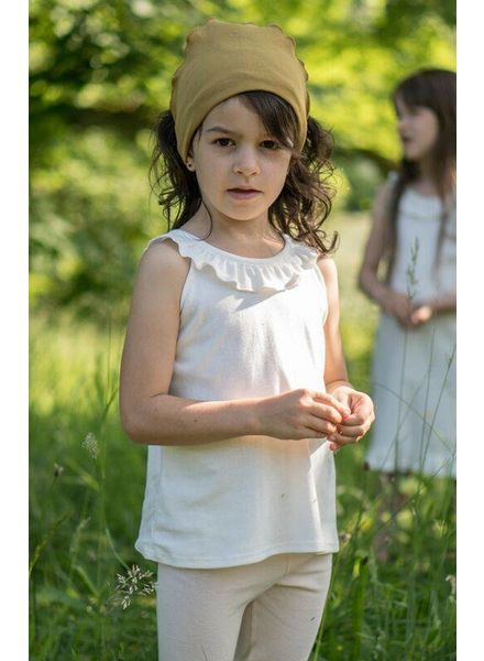 Minimalisma Solja top - 100% organic cotton - white - 18 m to 6 years