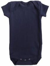 Minimalisma Nea romper - ribbed- 100% organic cotton - dark blue - 12m tm 3 years