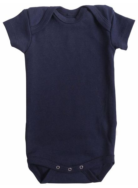 Minimalisma Nea romper - ribbed- 100% organic cotton - dark blue - 12m tm 3 years