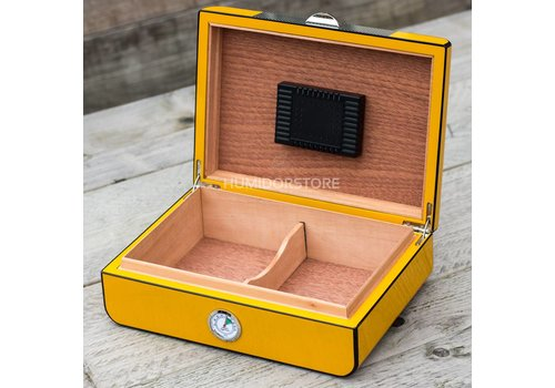 Humidor Cuban Yellow