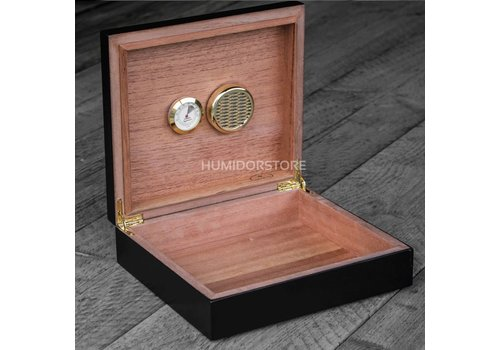 Coombes & Claymore Humidor Westminster Black