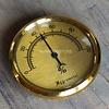 Big hygrometer classic bronze