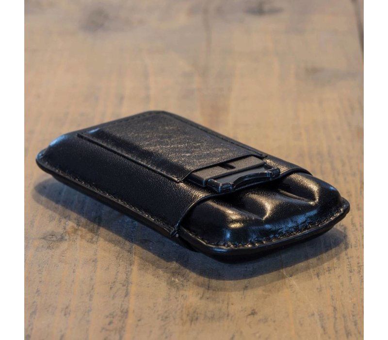 Leather cigar case Corona for two cigars