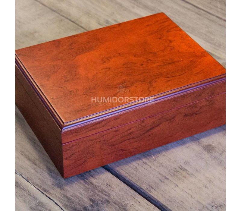 Humidor bookwill - Mahogany set