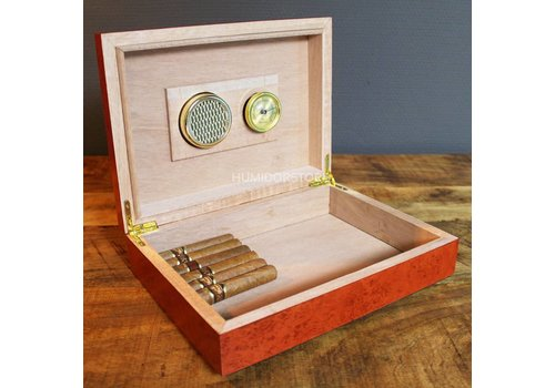 Coombes & Claymore Humidor Westminster Cherry