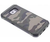 Grüne Camouflage Hardcase-Hülle für Samsung Galaxy S6