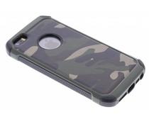 Grüne Camouflage Hardcase-Hülle für iPhone 5 / 5s / SE