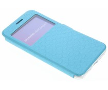 Blaue Rauten-Hülle für Huawei Y5 2/Y6 2 Compact